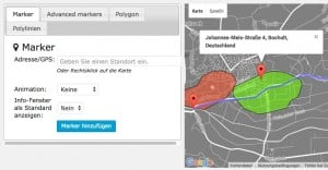 Google Maps einbinden in WordPress