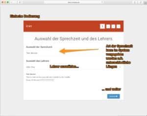 Elternsprechtag Software für Schulen