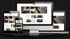Designer Webseite + modularer Onlineeditor