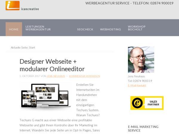 Werbeagentur Bocholt - Werbung und Webdesign, Internetservice und Onlinemarketing